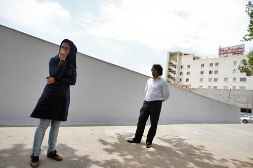 مِشَد -دیوار نگاره ی شاهنامه - میدان فردوسی-ندا رئوفیان و علیرضا رجعتی